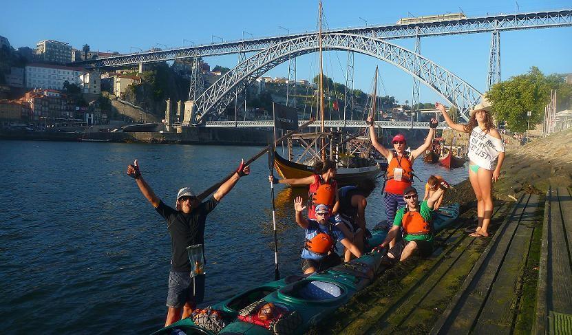 Expedicion Douro Duero en kayak